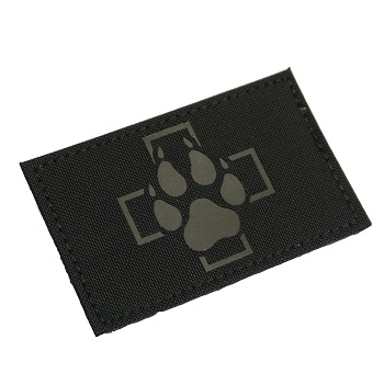"RayWorx ® ""Swiss K-9\"" IR Patch - Black"