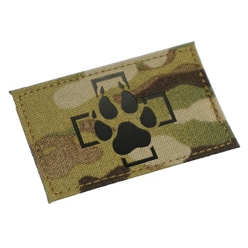 "RayWorx ® ""Swiss K-9"" IR Patch - MultiCam"
