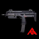 RA-Tech Custom KWA H&K MP7A1 GBB (NPAS) - Black