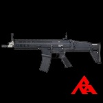 RA-Tech Custom WE SCAR-L MK.16 Mod 0 CQC Black (NPAS) - LVL 2