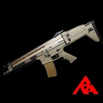 RA-Tech Custom WE SCAR-L MK.16 Mod 0 CQC FDE (NPAS) - LVL 1