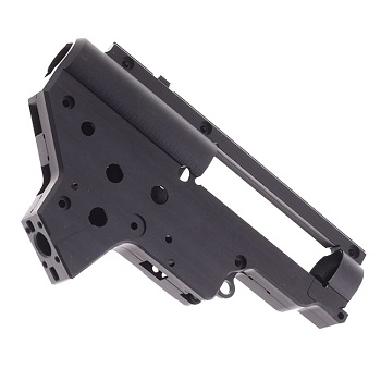 RetroArms CNC Ver. 2 Gearbox Shell (8mm) QSC - Black