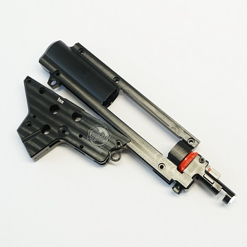 RetroArms CNC Ver. 2 Split-Gearbox Shell (9mm) QSC & HopUp Unit - Black