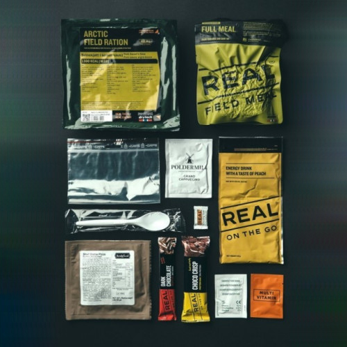 REAL ® Artic Field Ration - Hähnchen Curry