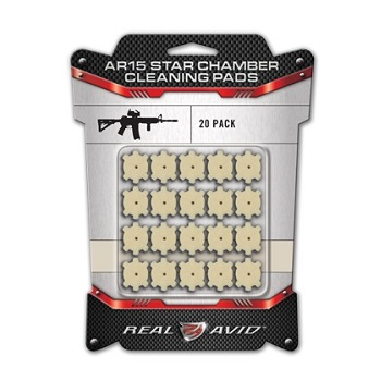 Real Avid ® AR15 Star Chamber Cleaning Pads für AR-15 / M4 (20er Pack)