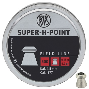 RWS ® Super H-Point Diabolos 4.5mm Flach - 500rnd