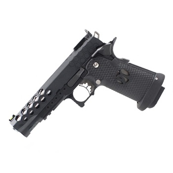 AW Custom HX2502 Hexagon HiCapa Pistol - Black