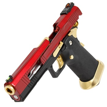 AW Custom HX1004 HiCapa Pistol - Split Red