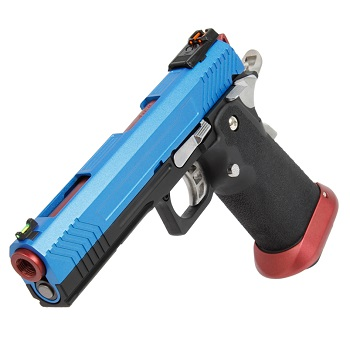 AW Custom HX1105 HiCapa Pistol - Blue/Red