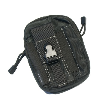 Sector Seven Multi-Use Molle Utility Pouch - Black