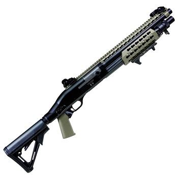 Secutor Velites S-V Spring Shotgun - TAN