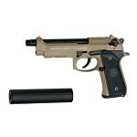 SOCOM GEAR M9A1 S.O.F. GBB Set inkl. SD - Desert