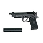SOCOM GEAR M9A1 S.O.F. GBB Set inkl. SD - Black