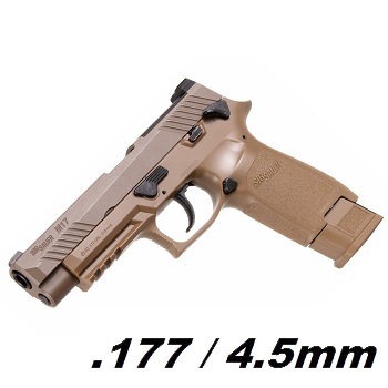 SIG P320 / M17 BlowBack Co² 4.5mm Diabolo - Dark Earth