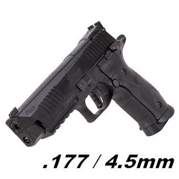 SIG P226 X-Five BlowBack Co² 4.5mm Diabolo - Black