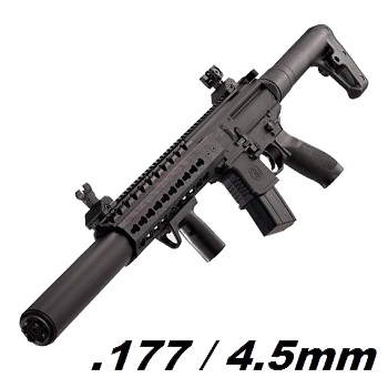 SIG MCX ASP Co² 4.5mm Diabolo (12 Joule) - Black