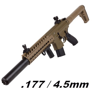 SIG MCX ASP Co² 4.5mm Diabolo (12 Joule) - Dark Earth