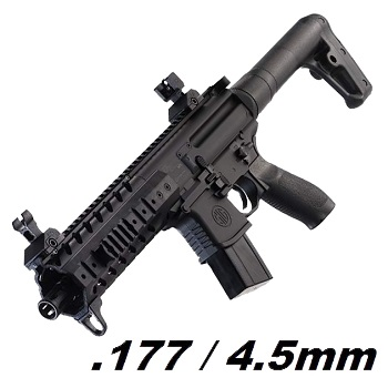 SIG MPX ASP Co² 4.5mm Diabolo (8 Joule) - Black