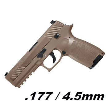 SIG P320 BlowBack Co² 4.5mm Diabolo - Dark Earth