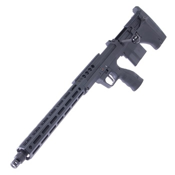 "Silverback x Desert Tech SRS A2 (22inch Barrel) M-LOK Spring Sniper Rifle ""Lefty"" - Black"