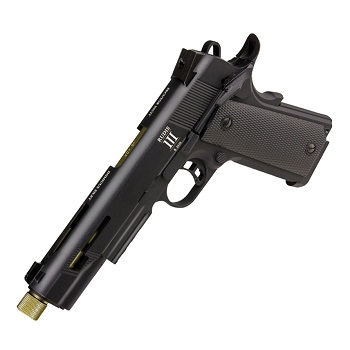 "KJ Works x Secutor 1911 ""Rudis III"" Co² GBB - Black"