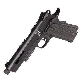 "KJ Works x Secutor 1911 ""Rudis VI"" Co² GBB - Black"