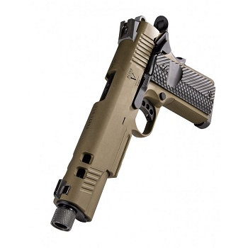 "KJ Works x Secutor 1911 ""Rudis V\"" Co² GBB - Bronze"