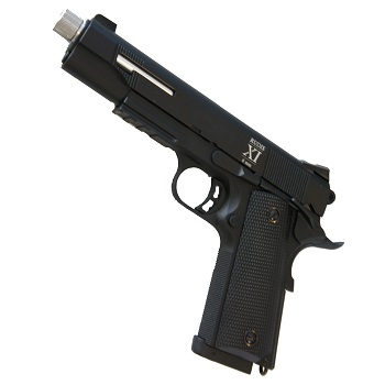 "KJ Works x Secutor 1911 ""Rudis XI"" Co² GBB - Black"
