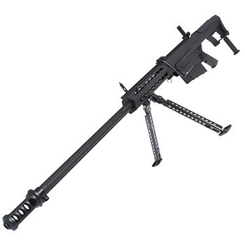 "Snow Wolf x Barrett M107 A1 29"" Barrel AEG - Black"