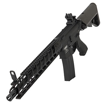 "Lancer Tactical M4 Nightwing ""M-LOK"" 14.5inch QSC ProLine AEG - Black"