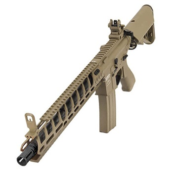 "Lancer Tactical M4 Nightwing ""M-LOK"" 14.5inch QSC ProLine AEG - Desert"