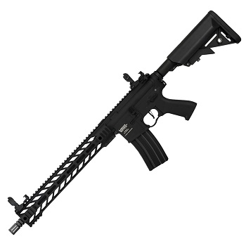 "Lancer Tactical M4 Enforcer ""M-LOK"" 14inch QSC ProLine AEG - Black"