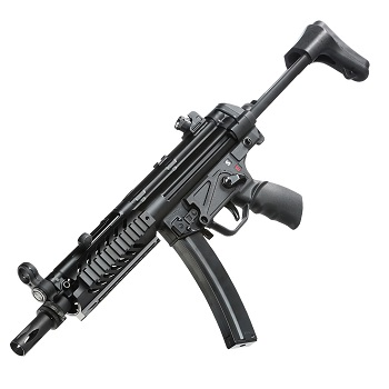 SRC SMG5 A3 Tactical Co² BlowBack - Black