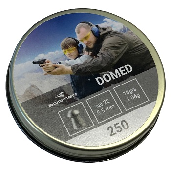 Borner Domed Pellets Diabolos 5.5mm - 250rnd