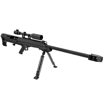 Snow Wolf M99 Spring Sniper Set - Black