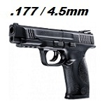 Smith & Wesson M&P 45 Co² 4.5mm Diabolo - Black