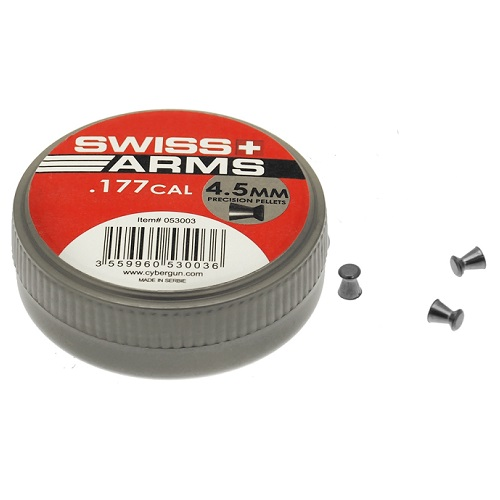 SWISS Arms Pellet Diabolos 4.5mm - 500rnd