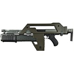 Snow Wolf M41A1 Pulse Rifle AEG (Alien) - Olive