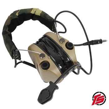 "Tac-Sky ""Sordin"" Funk-HeadSet mit Gehörschutz ""Standard Version"" - Dark Earth"