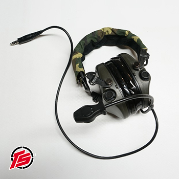 "Tac-Sky ""Tier 1"" Funk-HeadSet mit Gehörschutz ""Standard Version"" - Foliage Green"