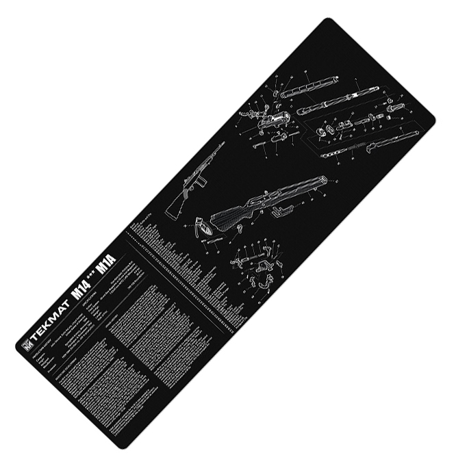 TekMat ® Firearm Cleaning Mat (12 x 36 inch) - M14 / M1A