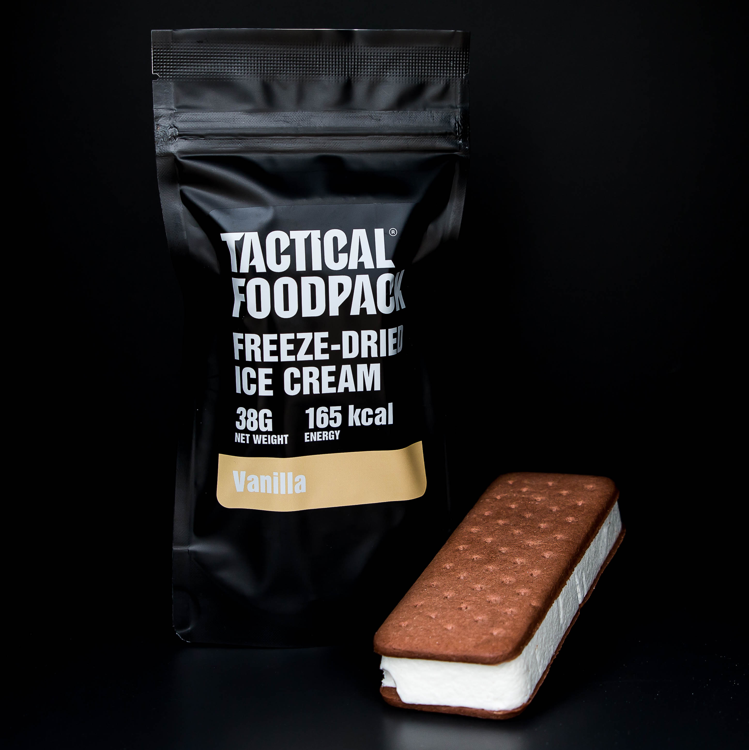 Tactical Foodpack ® Freeze-Dried Ice Cream Vanilla