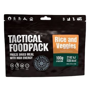 Tactical Foodpack ® Rice and Veggies