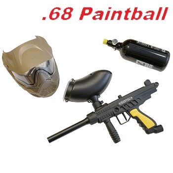 Tippmann FT-12 Rental Cal .68 Paintball Marker Set