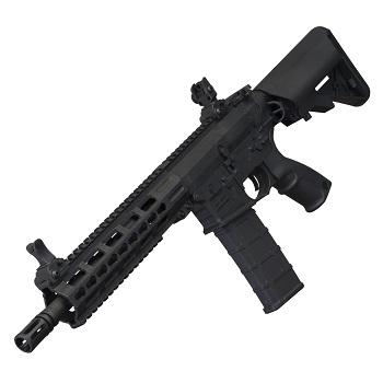 "TIPPMANN M4 ""Commando"" KeyMod AEG 10.5"" - Black"