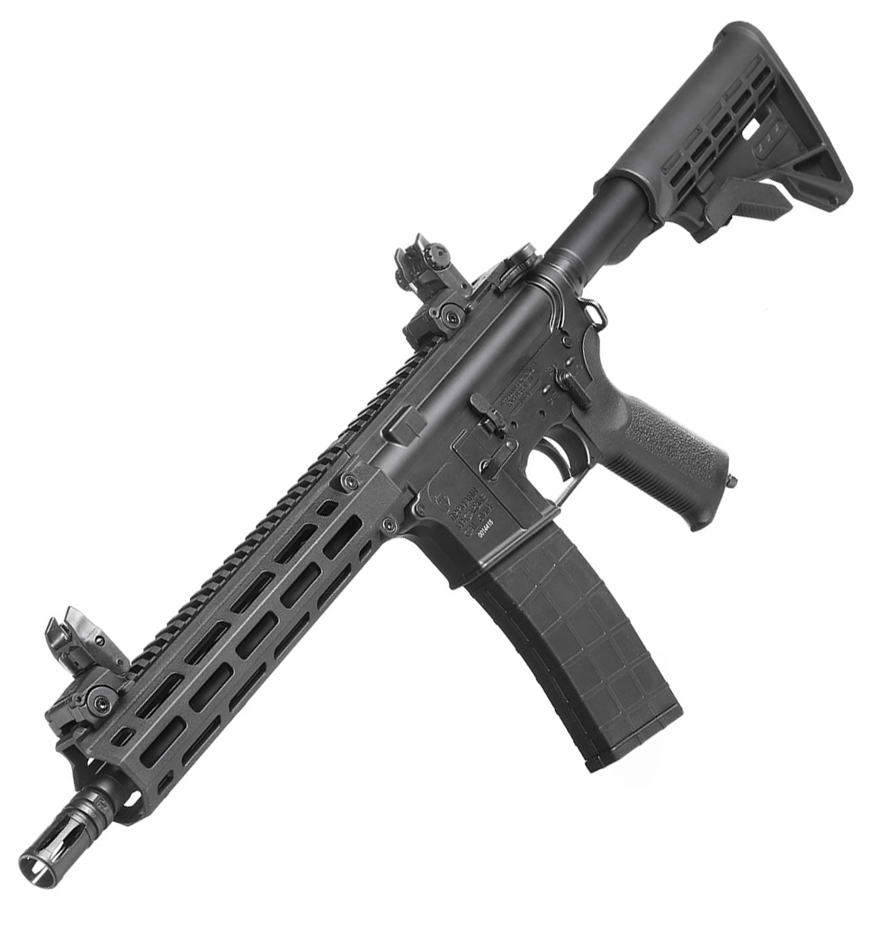 "TIPPMANN M4 ""M-LOK"" CQB HPA/Co² BlowBack - Black"