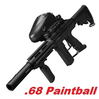 TIPPMANN Striker AR1 Elite Cal .68 Paintball Marker - Black