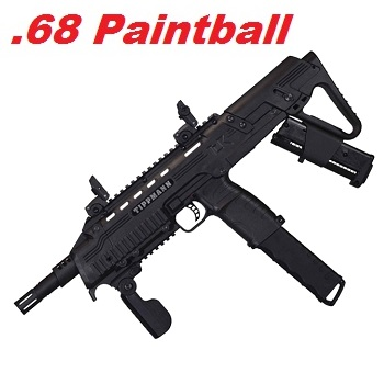 TIPPMANN TCR Cal .68 Paintball Marker - Black