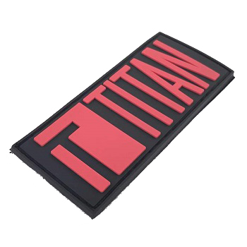 Titan Logo PVC Patch