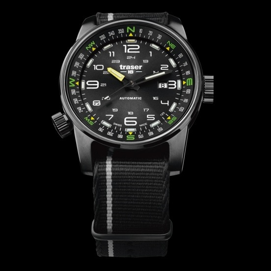 traser P68 Pathfinder Automatic Black H3 Watch